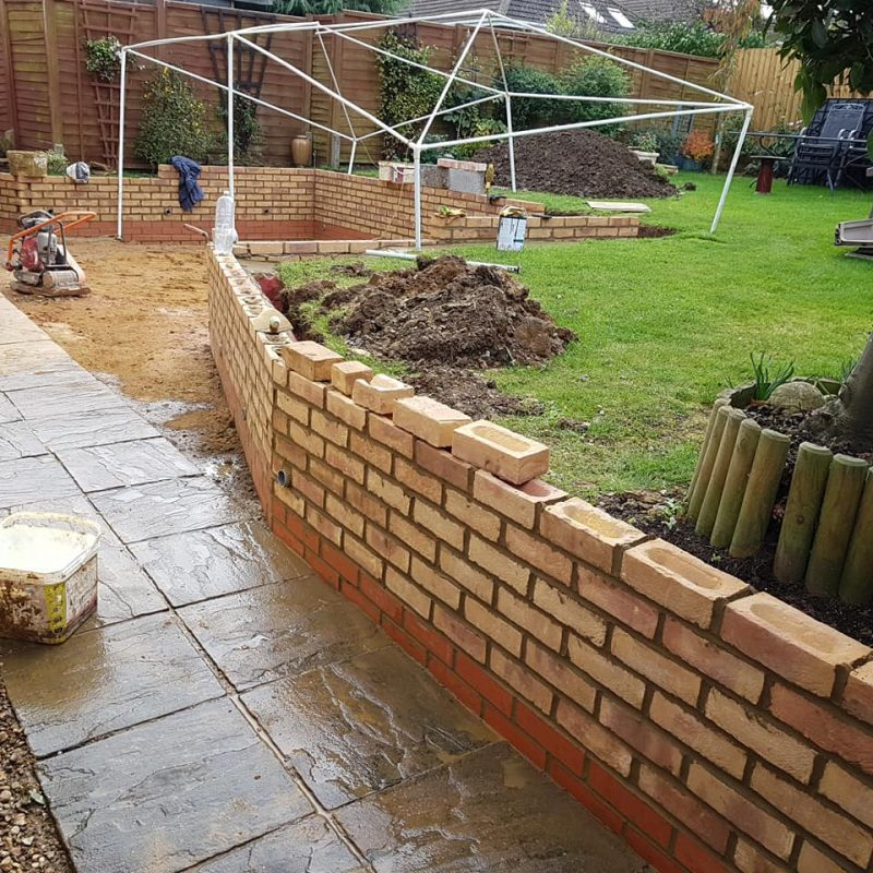 picture of brickwork northamptonshire brick laying 3