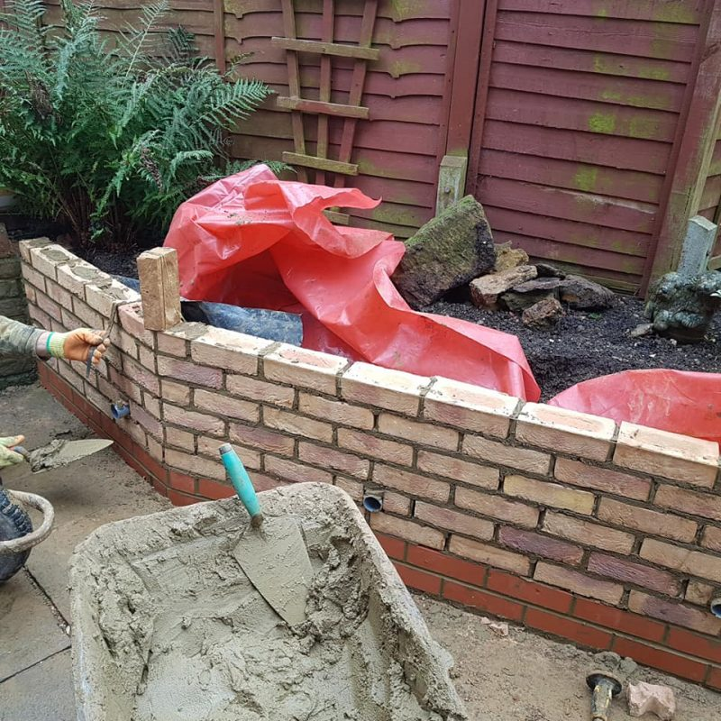 picture of brickwork northamptonshire brick laying 4